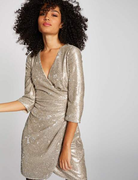 Robe à paillettes : chic