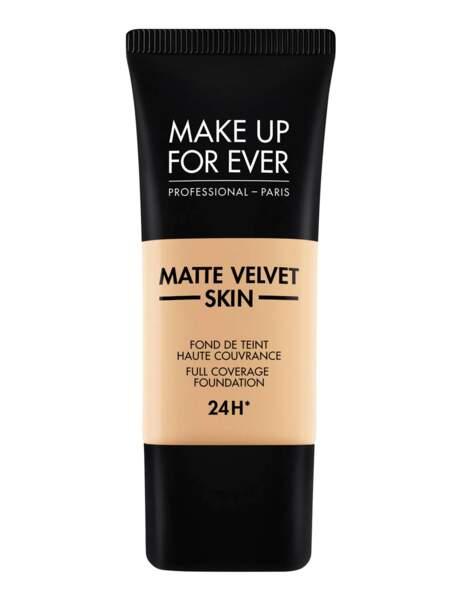 Le fond de teint mat de Make Up For Ever
