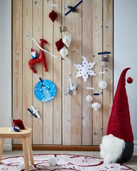 Décoration, Père Noël textile
