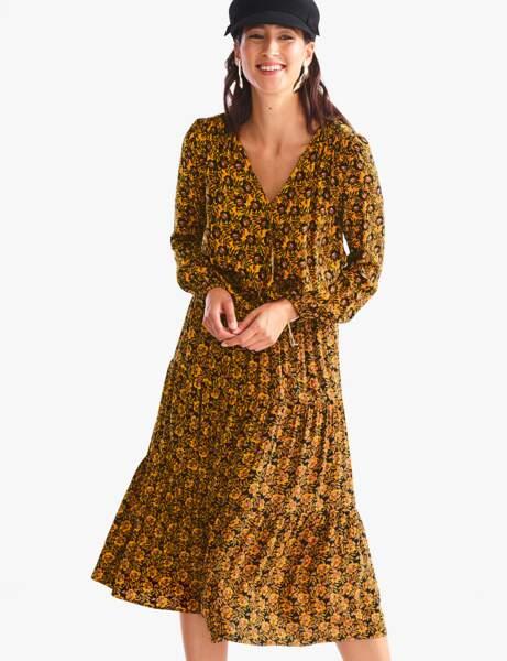 La jupe imprimée