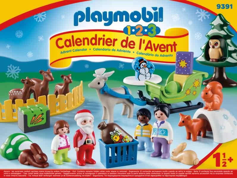 Le père Noël et les animaux de la forêt - Playmobil