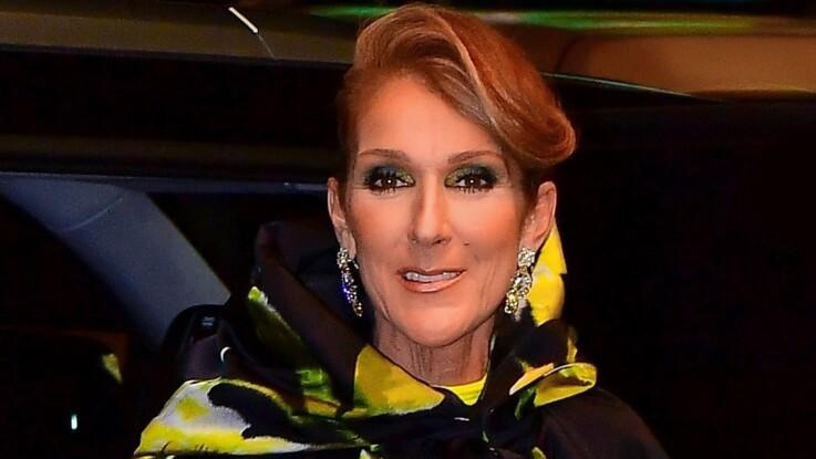 Photos - Céline Dion tout en bleu flashy : elle sort les cuissardes et le manteau moumoute en plein New York (attention les yeux !)