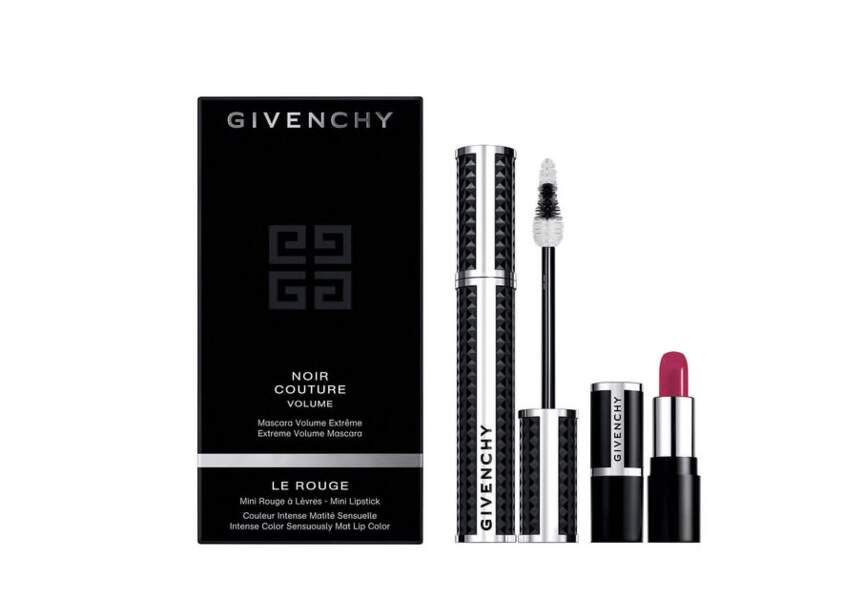 Le coffret mascara noir couture Givenchy