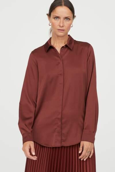 Tendance chemise : couleur d'automne