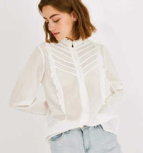 Tendance chemise : rétro