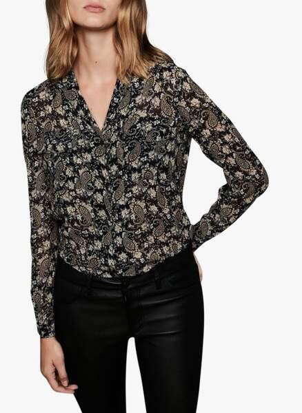 Tendance chemise : le col tailleur