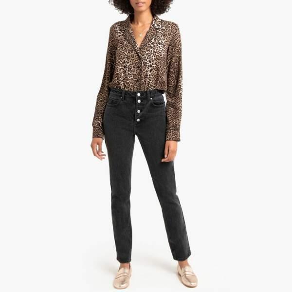 Tendance chemise : l'imprimé léopard