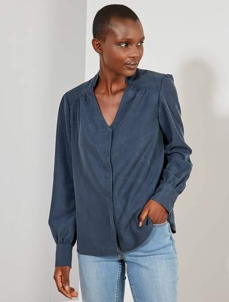Tendance chemise : décontractée