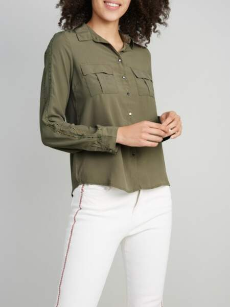 Tendance chemise : casual