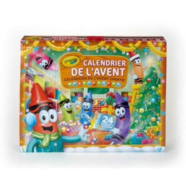 Le calendrier des petits artistes - Crayola