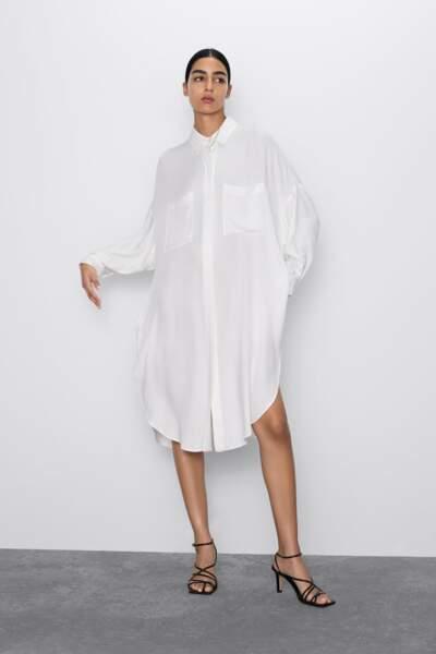 Tendance chemise : la chemise détournée en robe