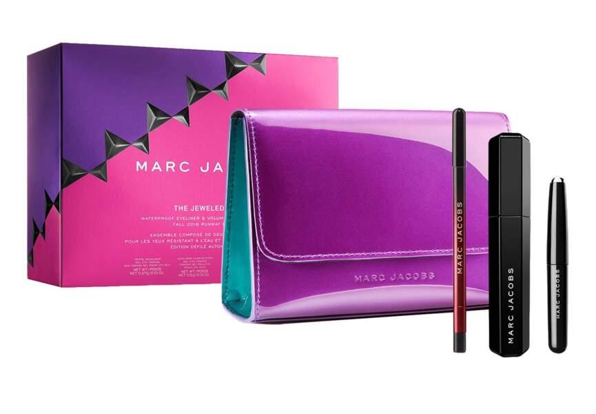 Le coffret the jewel eye édition Marc Jacobs Beauty