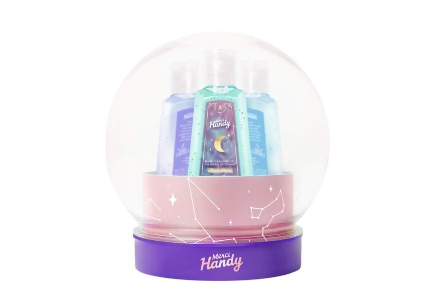 Le coffret crystal ball Merci Handy