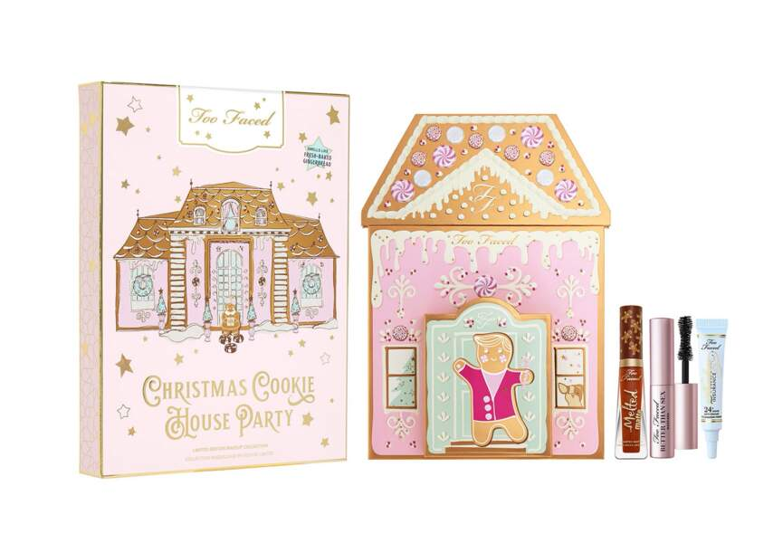 Le coffret gingerbred house party Too Faced