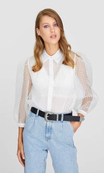 Tendance chemise : romantique