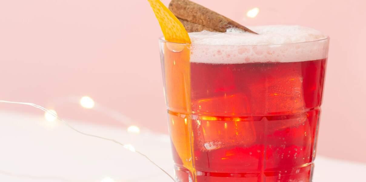 Cocktail Kriek Fizz