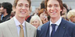 PHOTOS - Harry Potter : Oliver et James Phelps (les jumeaux Weasley) sont méconnaissables !