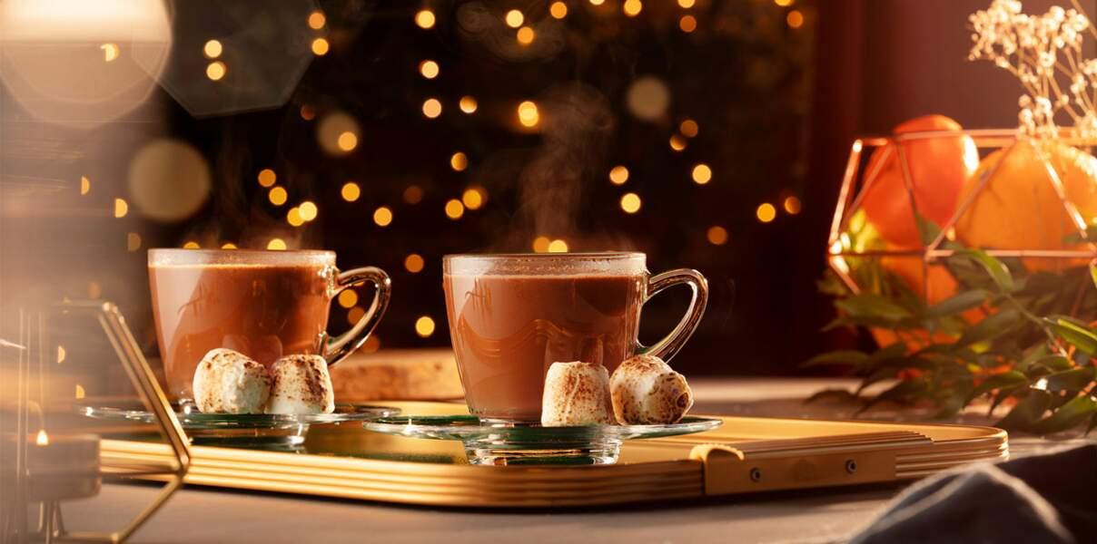 Cocktail chocolat chaud Grey Goose
