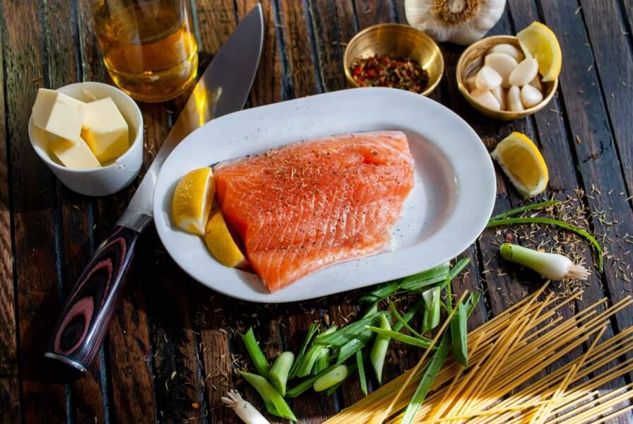Les poissons gras : riches en oméga 3