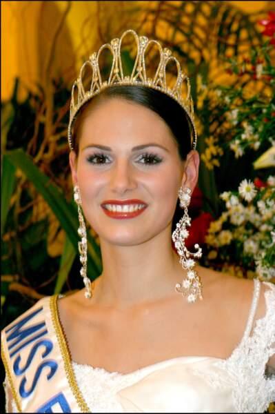 Laetitia Bléger, Miss France 2004.