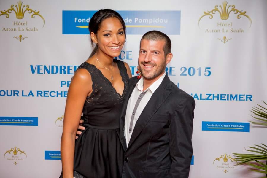 Cindy Fabre et son compagnon Jean-Marc.