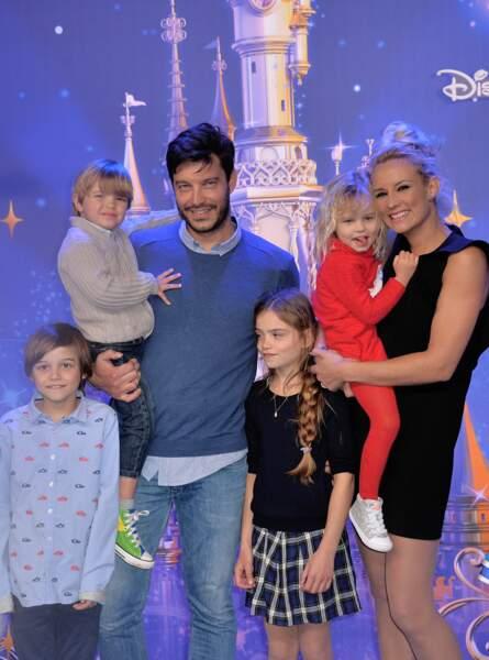 Avec son mari Bertrand Lacherie, ils sont les heureux parents de 4 enfants.