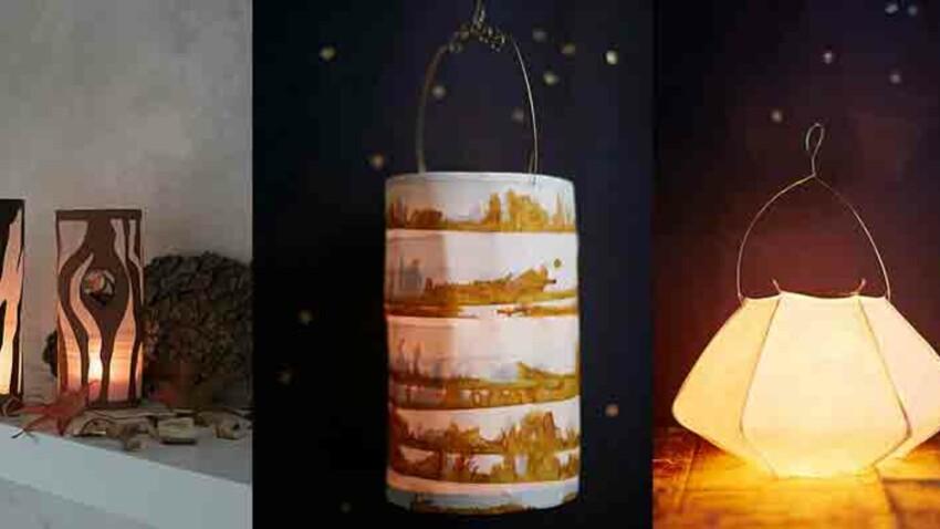 Noël DIY : lanternes légères