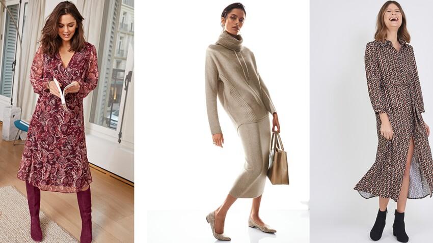 Mode + 50 ans : bien porter la robe longue selon sa morphologie