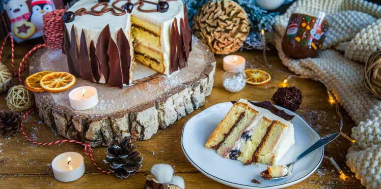 Le gâteau au Nutella façon bûche de Grégory Cohen