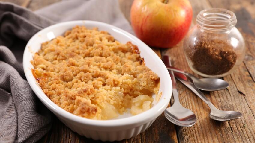 Fruits rouges, pommes, nature : nos meilleures recettes de crumbles maison