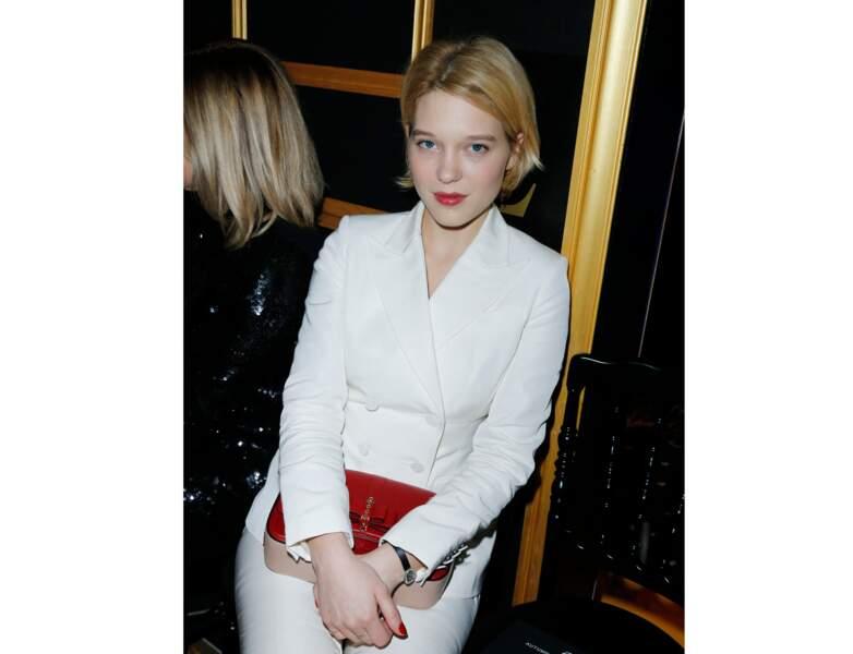 2013 : à 28 ans, elle porte un carré court et élégant