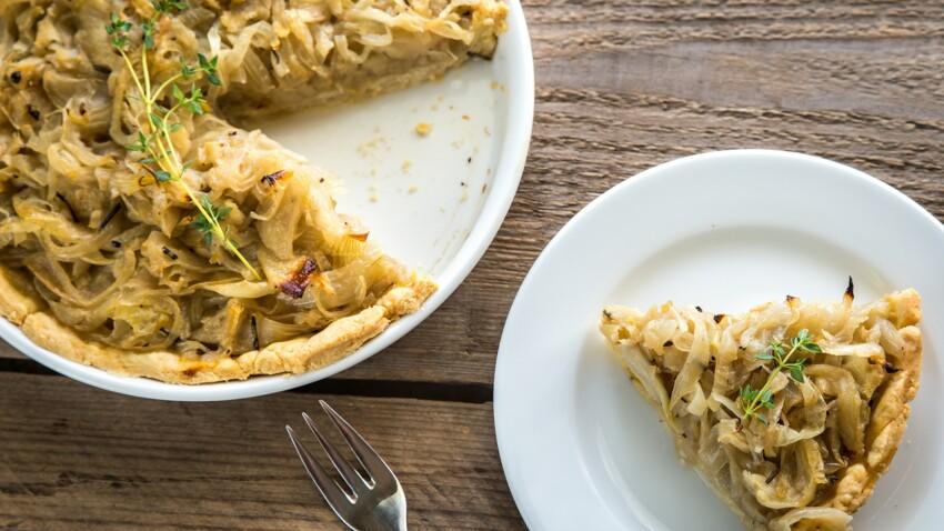 Traditionnelle, sans crème, aux lardons : toutes nos recettes de tartes à l'oignon