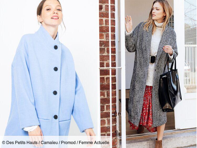 15 manteaux pour passer l'hiver au chaud Femme Actuelle