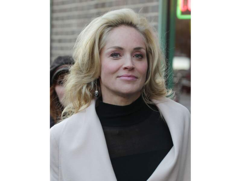 2012 : sur un tournage, elle opte pour un make-up nude