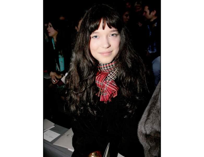 En 2008, l'actrice tente le brun