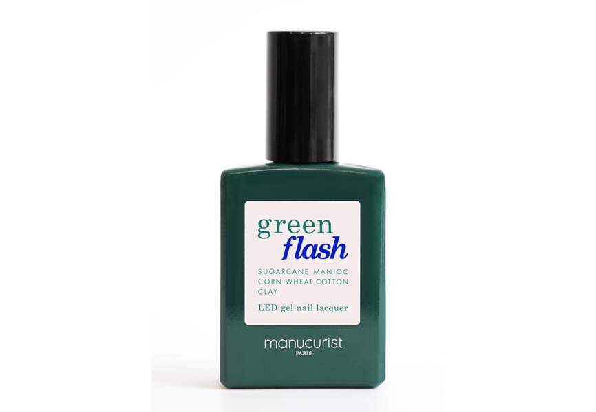 Le Green Flash at home Manucurist