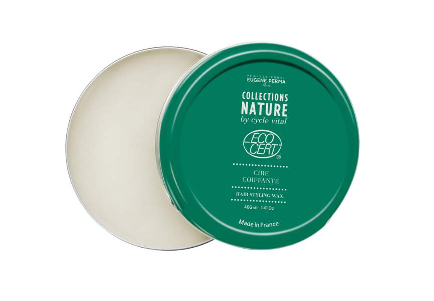 La cire coiffante bio Collections Nature by Cycle Vital Eugène Perma