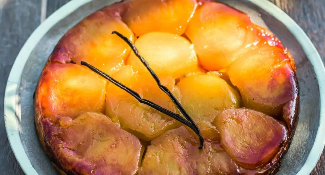 Tarte Tatin à l'huile d'olive de Nyons AOP