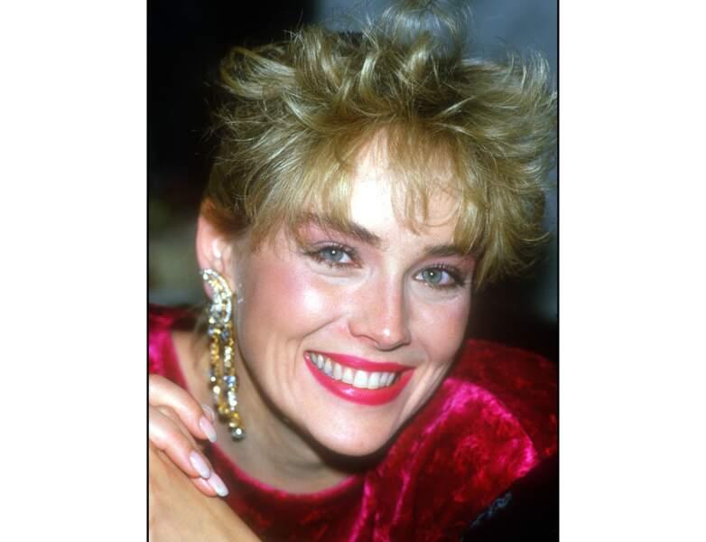 1986 : Sharon Stone a 28 ans
