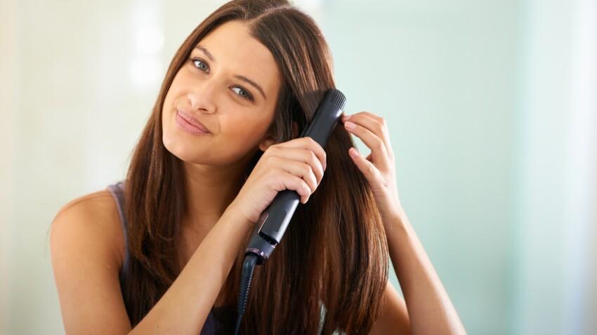 Cheveux : comment bien utiliser un lisseur ?