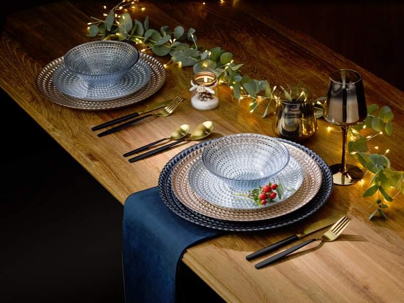 Une déco de table épurée pour les fêtes