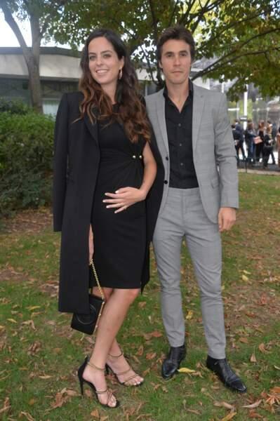 Anouchka Delon et son compagnon en septembre dernier.