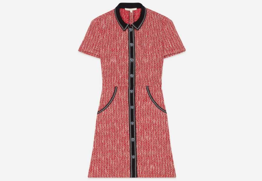Tüvit eğilim: gömlek elbise