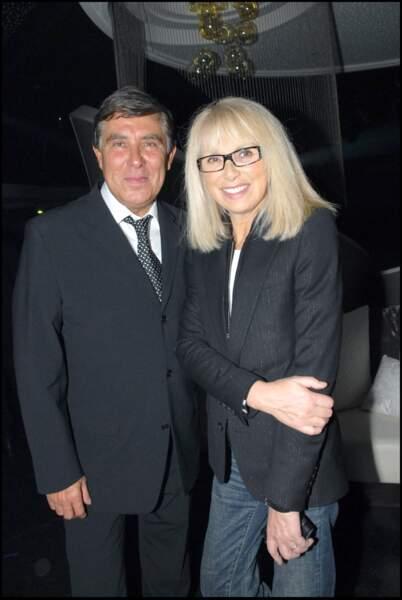 Jean-Pierre Foucault et Mireille Darc en 2007
