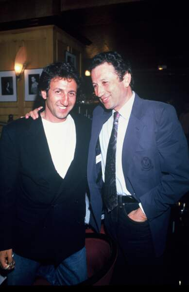 Michel Drucker et Richard Anconina en 1993