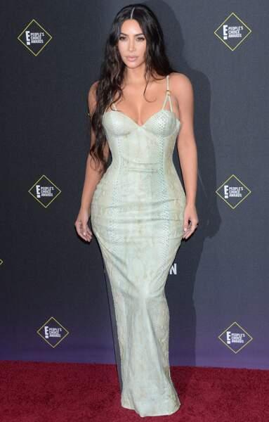 Le wavy de Kim Kardashian