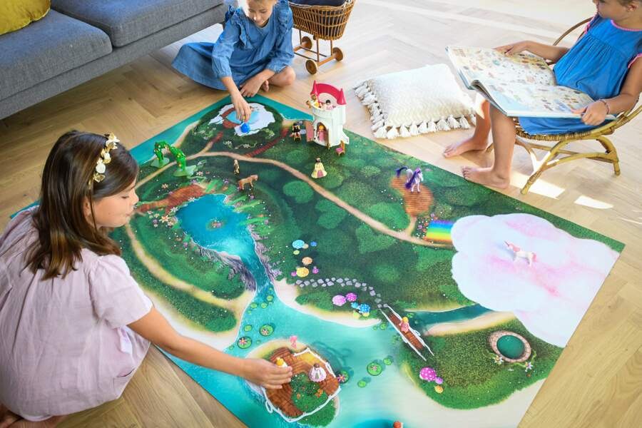 Un décor de rêve pour tous leurs jeux -  Carpeto