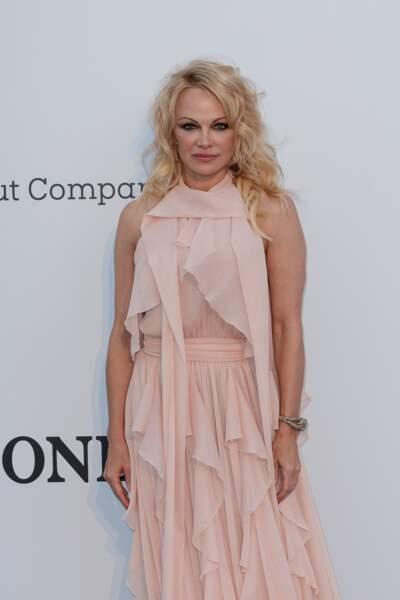 Le wavy de Pamela Anderson