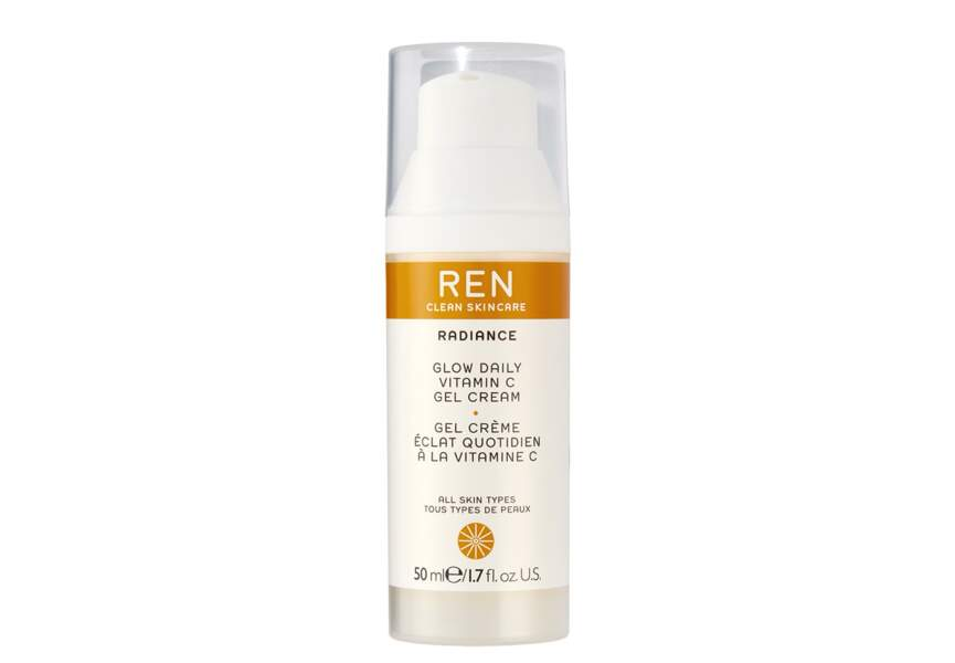 Le gel crème à la vitamine C Ren