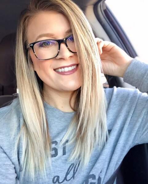 Les lunettes avec un dégradé